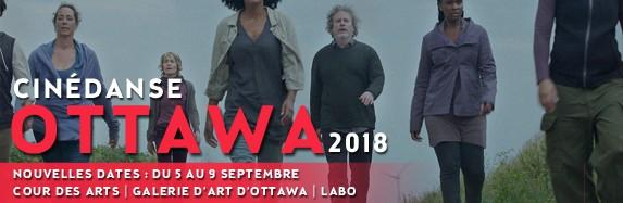 La 3e édition de Cinédanse à Ottawa est reportée! New Dates for Cinédanse Ottawa 2018: September 5 to 9